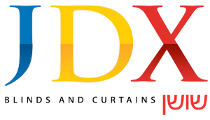 Our Window Covering Products | The Colony, Dallas, Plano & Carrollton, TX | JDX Blinds and Curtains Logo